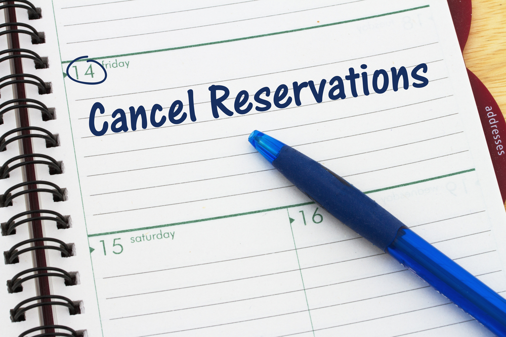united how to cancel reservation